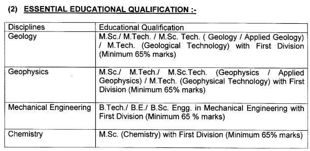 mecl education qualification